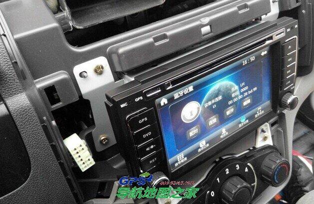 车载导航安装:北汽威旺m20导航安装流程