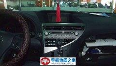 凌志RX270车载导航简明安装图
