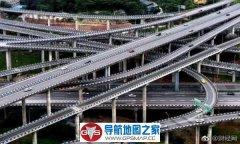 高德地图就是牛 重庆8D立交桥不迷路